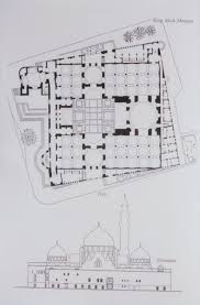 mosque floor plan king saud mosque mit libraries