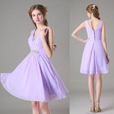 lilac dresses for weddings vestido de festa affordable junior bridesmaid dress summer 2016