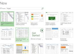the office templates within microsoft project the project corner