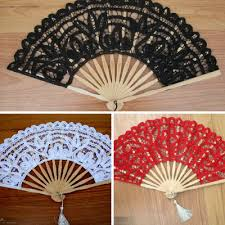 lace fans wedding lace fans and lace parasols for colorful handmade