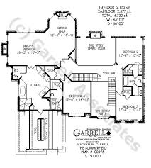 luxury estate floor plans summerfield house plan house plans by garrell associates inc