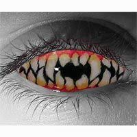 25 terrifying contacts halloween images