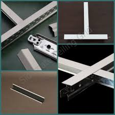 building materials ceiling t bar frame suspended ceiling