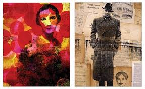 Caplan Art Designs Havemuse Blog Archive Collage Portraits By Michelle Caplan