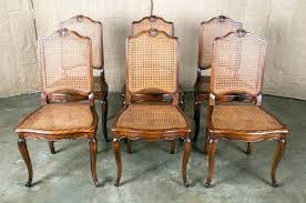 dining chairs stunning cane back dining chairs design 19 in