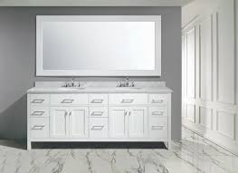 london stanmark 84 u2033 double sink vanity set in white finish