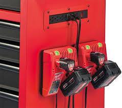 Cornwell Side Cabinet Milwaukee Ball Bearing Tool Storage Is Full Of Convenient Features