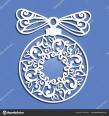 laser cut paper christmas ball christmas decorations for wood