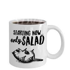 Coffee Cup Meme - unique hungry fat cat coffee mug diet meme cup diet meme