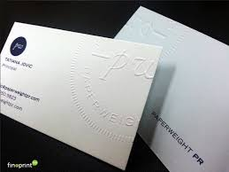Premium Business Cards Embossed Embossed Business Cards