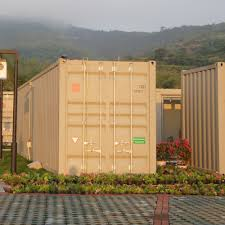 low price container house green tech outdoor camp container houses