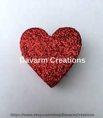 heart styrofoam heart polystyrene heart wedding decoration