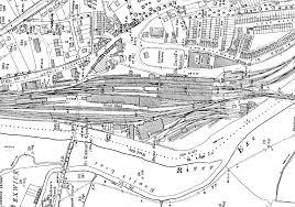 exeter st david u0027s track plan 1932