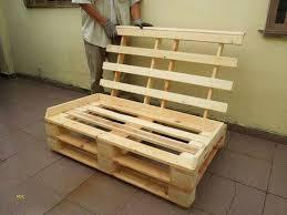 fabrication canapé en palette canapé palette tuto nieuw fabrication meuble palette ides de
