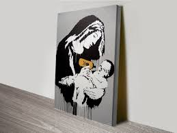 buy banksy art prints and street art graffiti canvas pictures online toxic mary banksy art