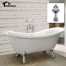 Cast Bathtub Aliexpress Com Buy 1600mm Freestanding Slipper Bath Tub Double