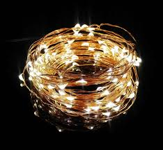 ultra thin wire led lights 2x 10m 33ft 100l rgb color changeable rainbow silver copper wire led