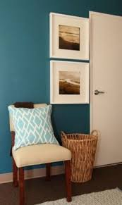 teal paint accent wall i want to live here pinterest