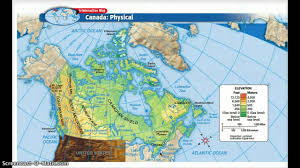 Political Map Of Canada Physical And Political Features Of Canada Youtube