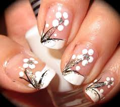 white gel nail designs how you can do it at home pictures