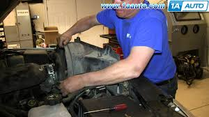 xl 2400 l replacement how to install replace engine serpentine belt 2000 06 chevy suburban