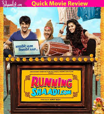 running shaadi quick movie review taapsee pannu and amit sadh u0027s