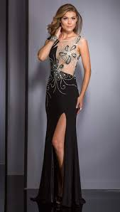 clarisse long formal prom dress 2623 promgirl net