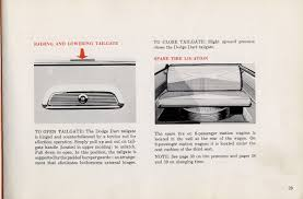1960 dodge dart owners manual