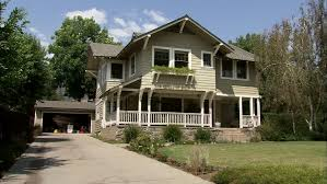 Two Story Craftsman by Day Hold Wide Approx 8 Seconds Right Aked Left Two Story Brown