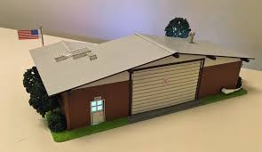 Menards Dog House A Blaze Of Glory Fire Station No 12 From Menards Classic Toy
