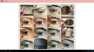 diy eyebrows step by step android apps on google play