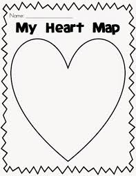 Heart Map Mrs Dolch U0027s Pm Kindy October 2014