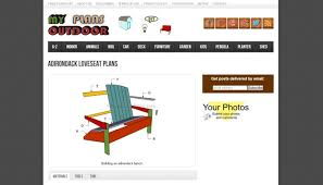 top 8 free adriondack chair plans u0026 designs