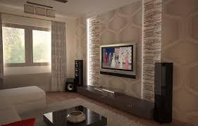 steinwand wohnzimmer beige steinwand wohnzimmer braun ziakia