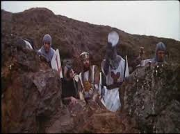 monty python and the holy grail recreated by lego fan mirror online