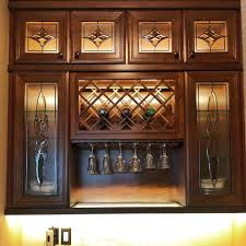 custom kitchen cabinet doors with glass bespoke leaded cabinet glass alternative stained glass llc fl