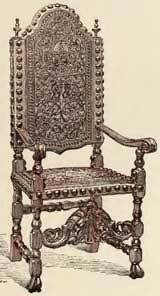 Armchair In Spanish Spanish Furniture Gothic And Renaissance Periods