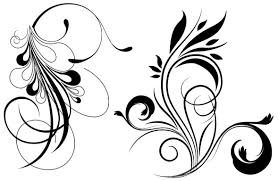 free floral vector graphics brushes free vector site