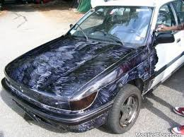 1991 mitsubishi galant colors paint with black sharpies