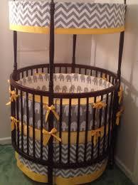 Baby Crib Round by Bedroom Round Cribs And Elephant Crib Bedding Plus Decorative
