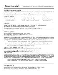 College Resume Templates Free Student Resumes Examples Jospar