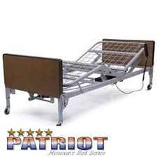 patriot hospital bed lumex full electric low hospital bed