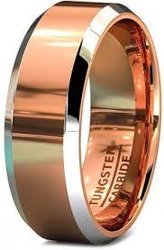 Guys Wedding Rings by Mens Wedding Band Black Red Tungsten Ring Black Wedding Bands