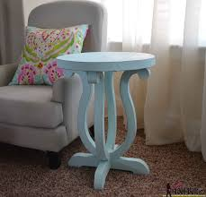 Free Wood End Table Plans by Curvy Side Table Her Tool Belt