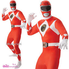 2nd skin halloween costumes mighty morphin power rangers superhero fancy dress costume