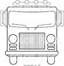 9 rescue vehicles coloring pages images