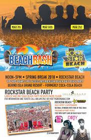 South Padre Island Map Beach Bash Music Fest Spring Break 2018 South Padre Island Texas