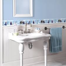 wallpaper borders bathroom ideas bathroom wallpaper borders decorating ideas minidecorideas