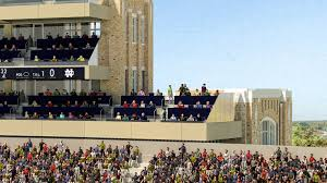 Notre Dame Stadium Map Home Premium Seating University Of Notre Dame