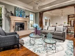 white trim wall art medium hardwood floor chair rail gray